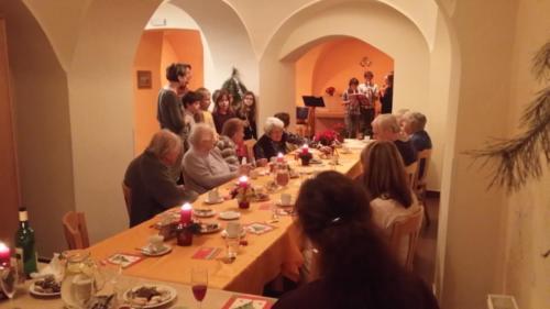 Vánoční besídka Týnská - 15. 12. 2014