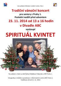 thumbnail of 23-11 Vánoční koncert – Spirituál kvintet